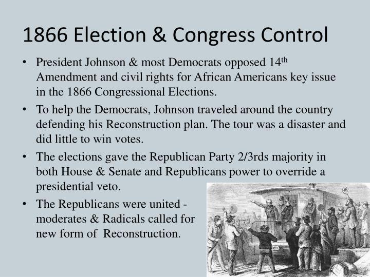 1866 Election & Congress Control