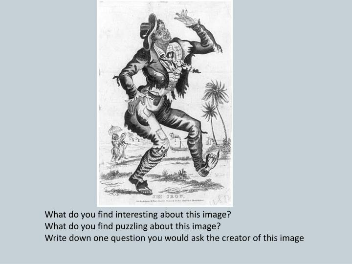 What do you find interesting about this image?