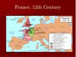 france 12th century