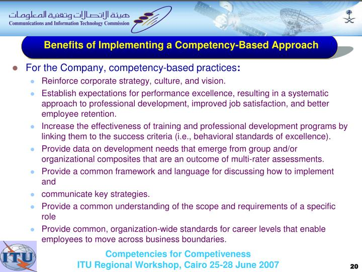 guidelines for writing a competency based Competency-based training thus differs in the sense that it is initiated by organizations to help talent match profiles of highly-successful performers and develop greater competence in employees[1] here is how to implement cbt in 12 steps.