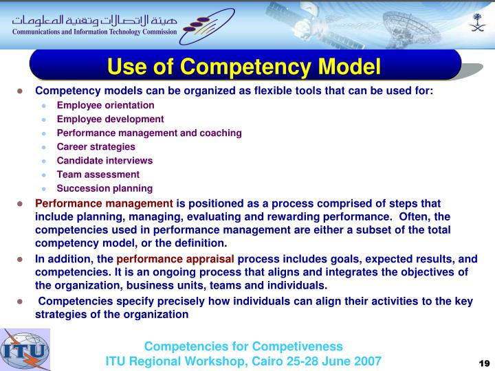 outline the main uses of competency models in shrm • job summary consisting of one or two concise sentences summarizing the main purpose of the job • principal accountabilities comprising a list of the primary tasks and  guidelines for writing a competency based job description author: hr staff created date.