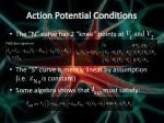 action potential conditions1