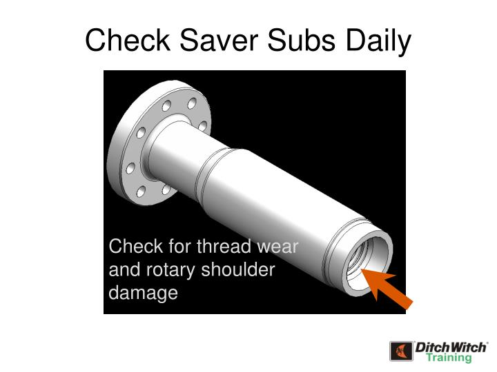 Check Saver Subs Daily