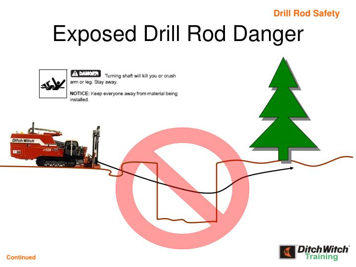 Drill Rod Safety