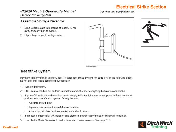 Electrical Strike Section