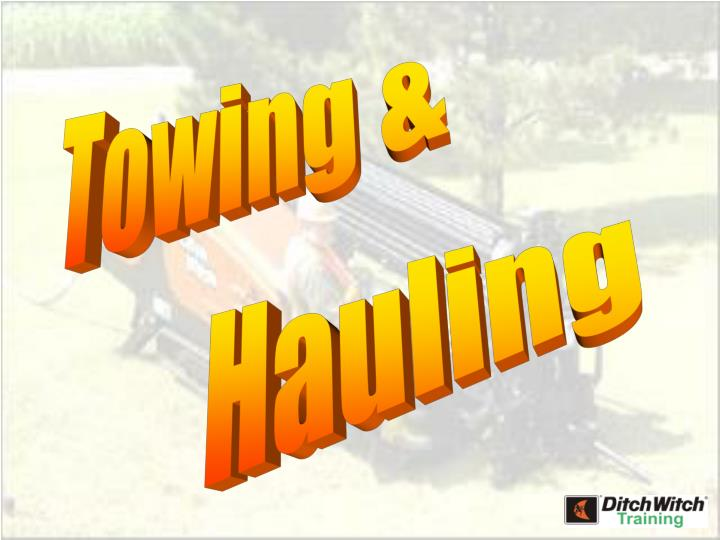 Towing &
