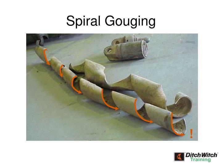 Spiral Gouging