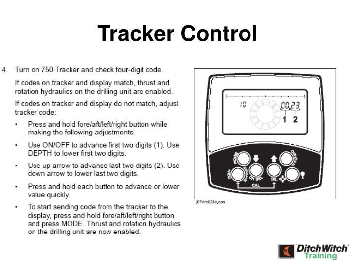 Tracker Control