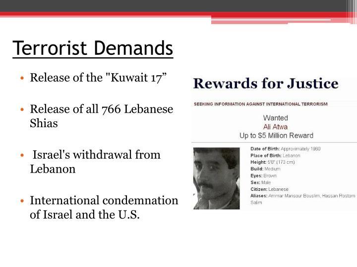 Terrorist Demands