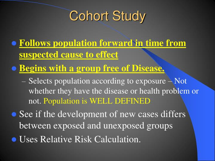 Cohort Study