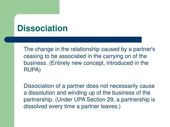Dissociation1