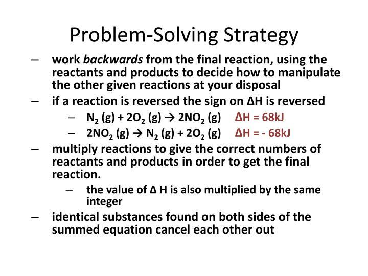 Problem-Solving Strategy