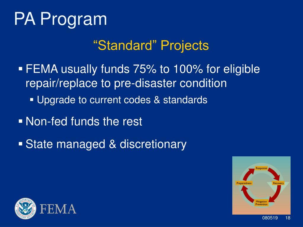PPT - Dr  William Straw Regional Environmental Officer DHS/FEMA