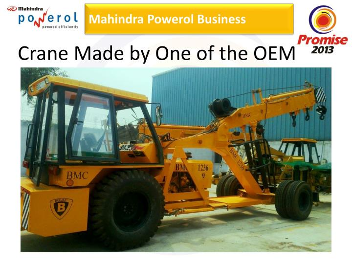 Crane Made by One of the OEM