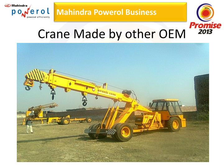 Crane Made by other OEM