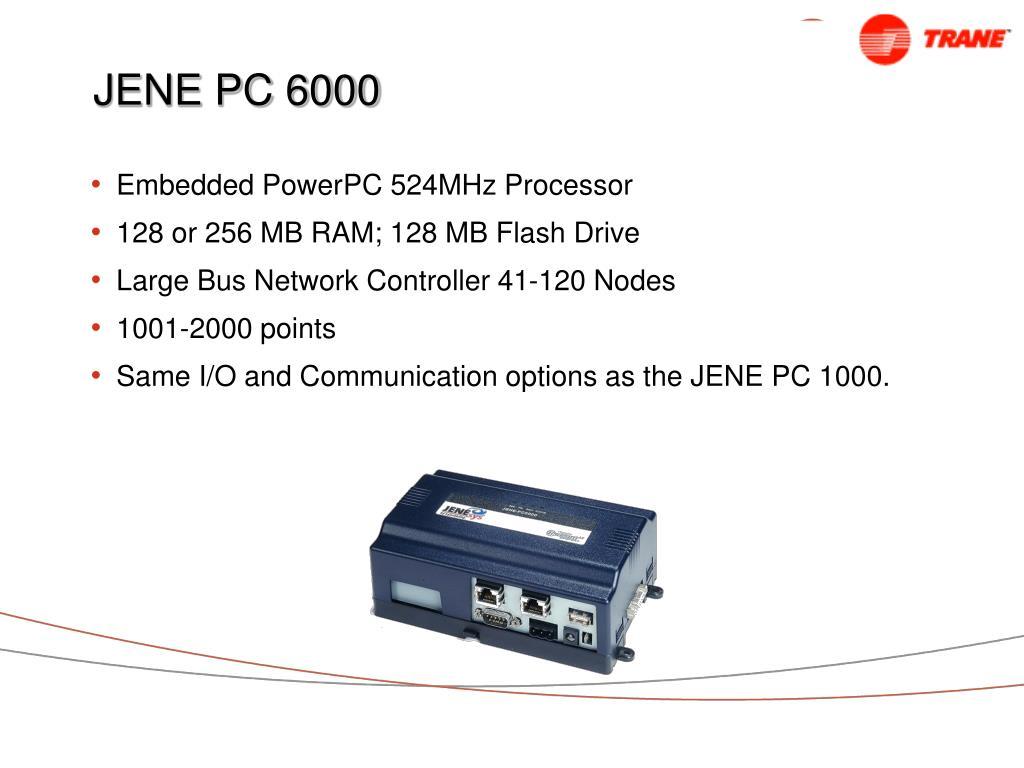 JENEsys JENE-PC1000 Niagara AX Framework