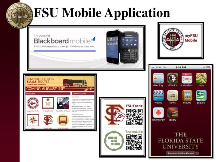 FSU Mobile Application