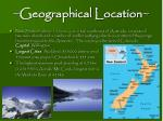 geographical location