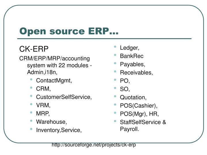 CK-ERP