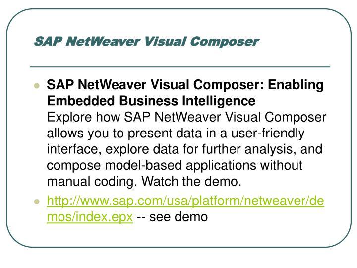SAP NetWeaver Visual Composer