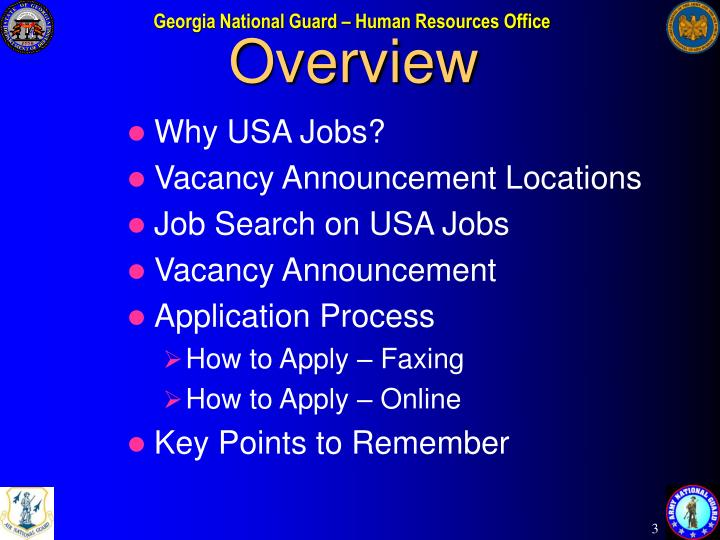 Ppt Usa Jobs Application Procedures Powerpoint Presentation Id