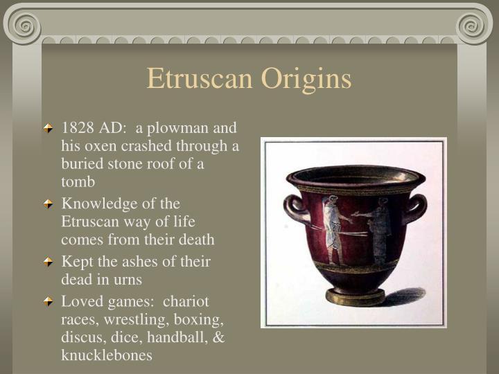Etruscan Origins