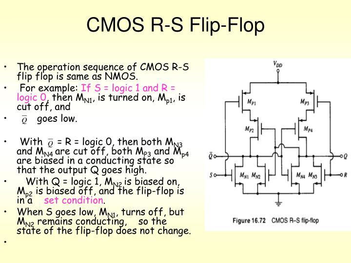 CMOS R-S Flip-Flop