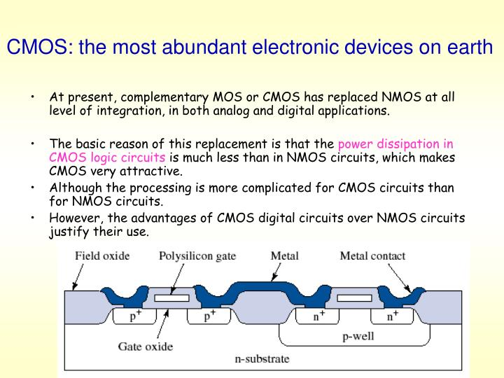 CMOS: the most abundant electronic devices on earth