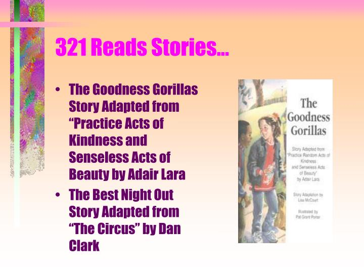 321 Reads Stories...