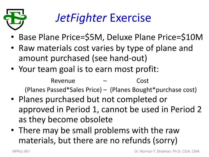 Jetfighter exercise1