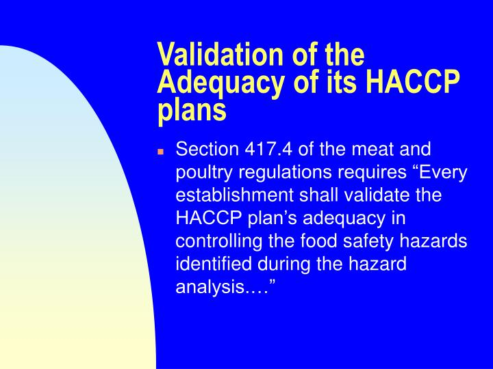 haccp and the poultry industry essay A food safety expert health essay poultry, and also the seafood discuss the concept of haccp and risk analysis in the context of food safety.