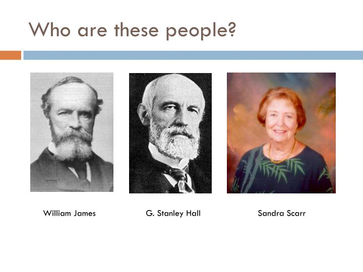 Who are these people