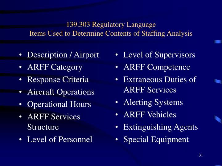 Description / Airport