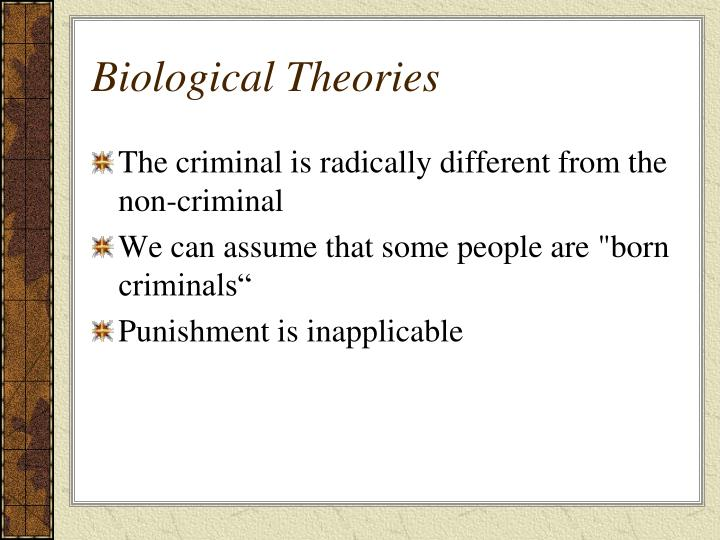 Biological theories1