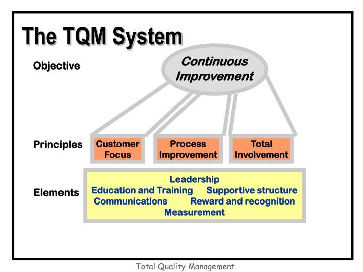 The TQM System