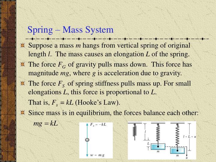 Spring mass system