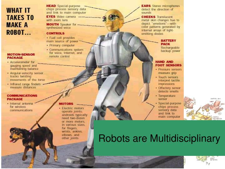 Robots are Multidisciplinary