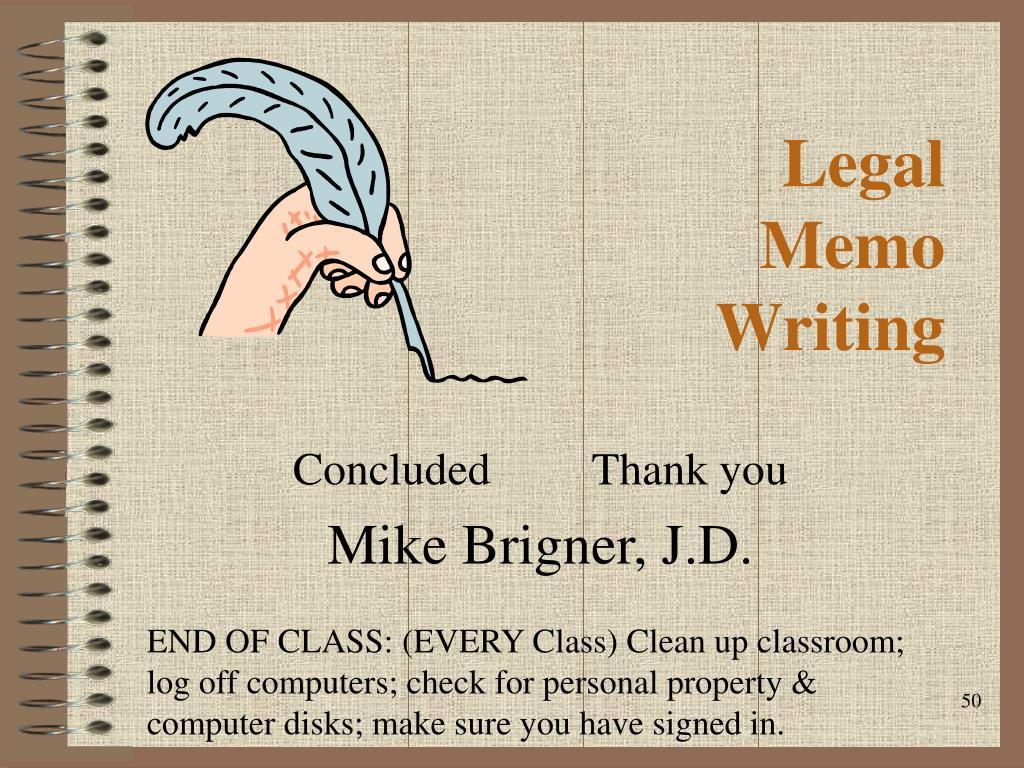 Legal Memo Template from image3.slideserve.com