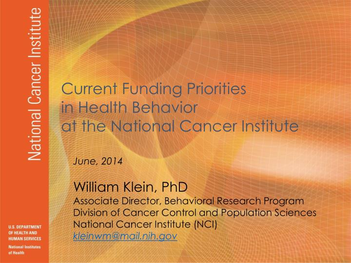 national cancer institute u s department of health and human services national institutes of health n.