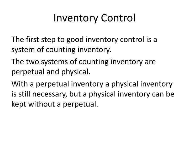 the control of inventory systems [7f] inventory control systems narendar sumukadas loading unsubscribe from narendar sumukadas  inventory carrying costs versus higher volume purchases - duration: 9:15.