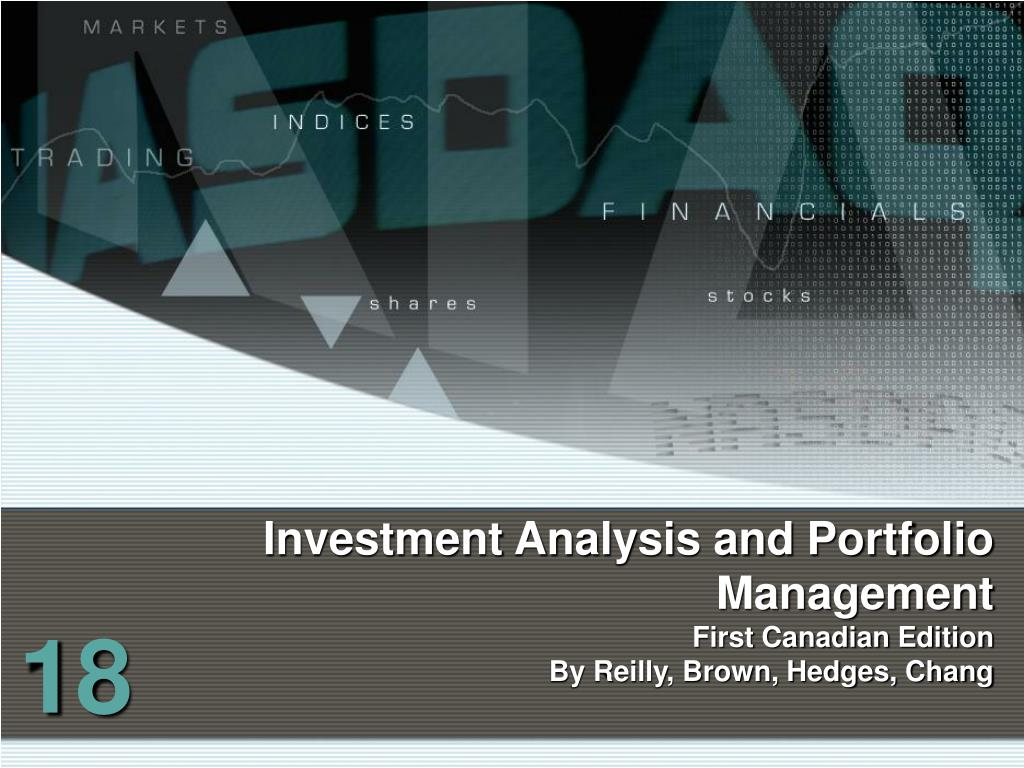 investment analysis and portfolio management chapter 13 ppt templates