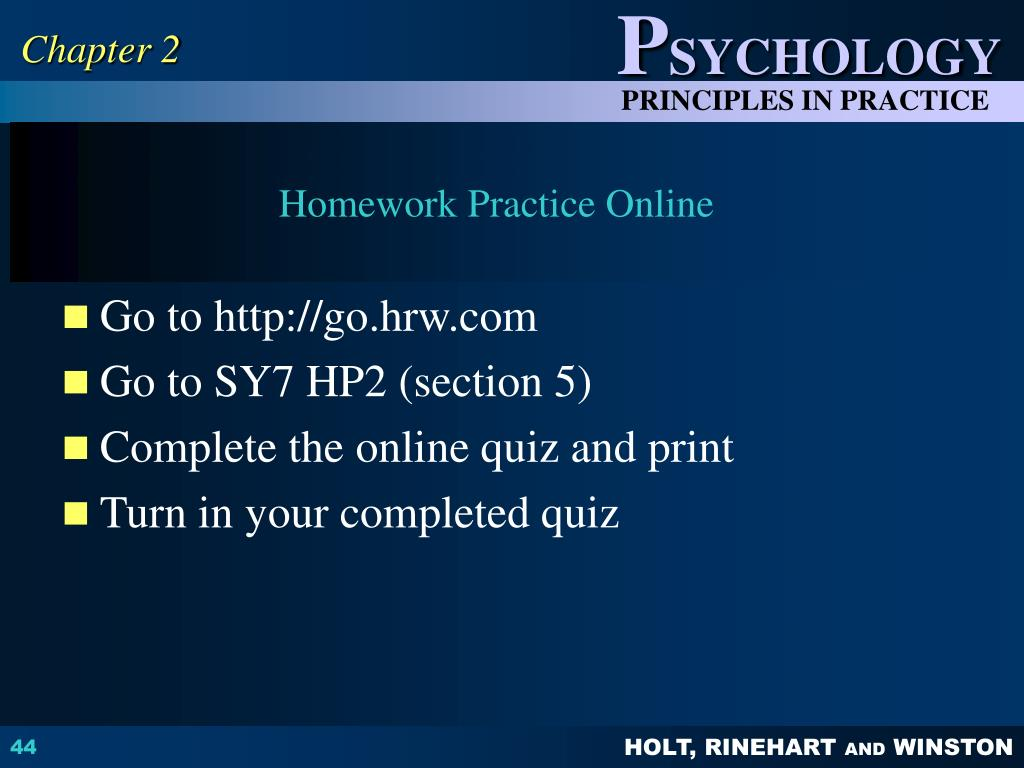 PPT - Chapter 2 PSYCHOLOGICAL METHODS PowerPoint ...