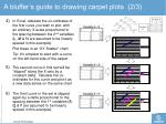 a bluffer s guide to drawing carpet plots 2 3