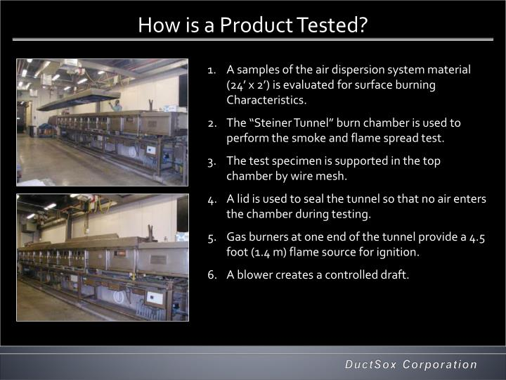 How is a Product Tested?