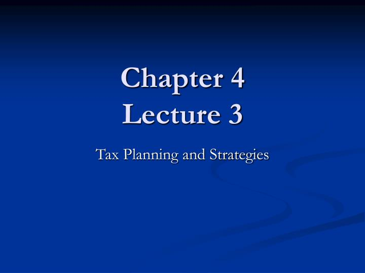 chapter 4 lecture 3 n.