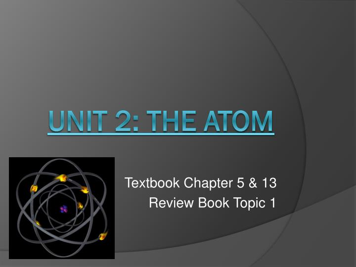 textbook chapter 5 13 review book topic 1 n.