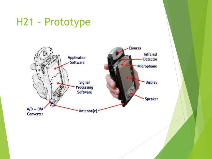 H21 - Prototype