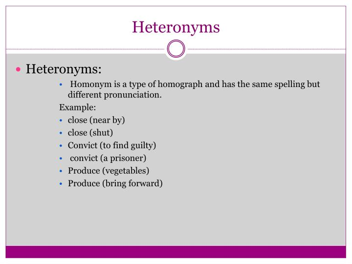 Ppt Homophones Homonyms Amp Homographs Powerpoint