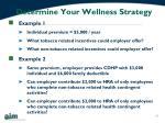 determine your wellness strategy1