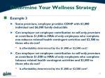 determine your wellness strategy2